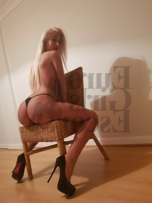 Christaline escort girl